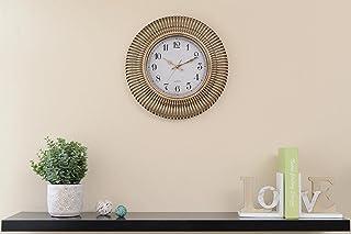 Pan Emirates Ozzie Wall Clock, Gold - Dia41cm