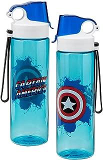 Best captain america water bottle Reviews