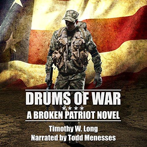 Drums of War audiobook cover art