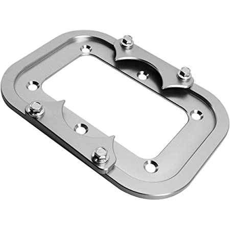 Group 34//78 Optima Yellow Red Battery Holder Tray Relocation Bracket Mount CNC Machined aluminum