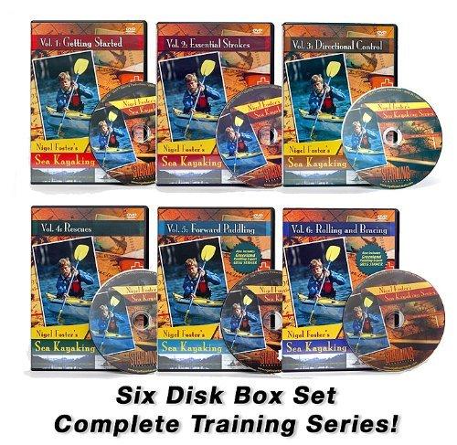 Nigel Foster's Sea Kayaking DVD - Box Set: Disks 1-6