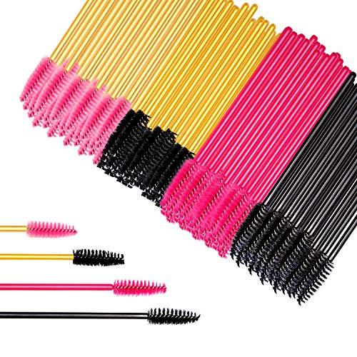 LATTCURE 200 Stück Wimpernbürstchen, Einweg Mascara Augen Make Up Tools Wimpernbürste Set Mascara...