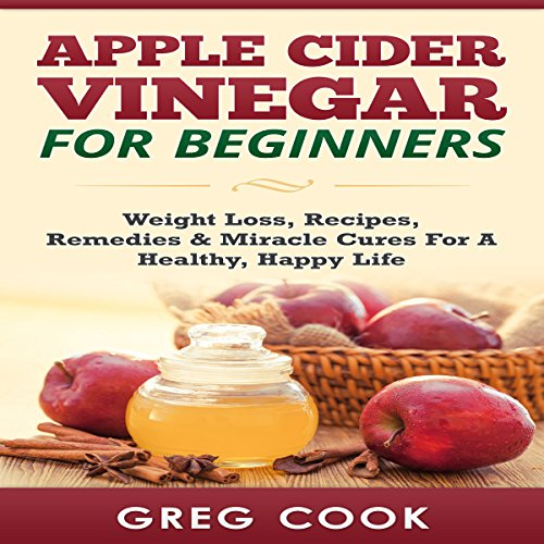 Apple Cider Vinegar for Beginners audiobook cover art