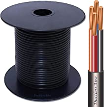 75 Ft 14-4 Awg Control Cable for Ductless Mini Split Air Conditioner Heat Pump Systems; 14 Awg 4 Conductor Color Coded Stranded