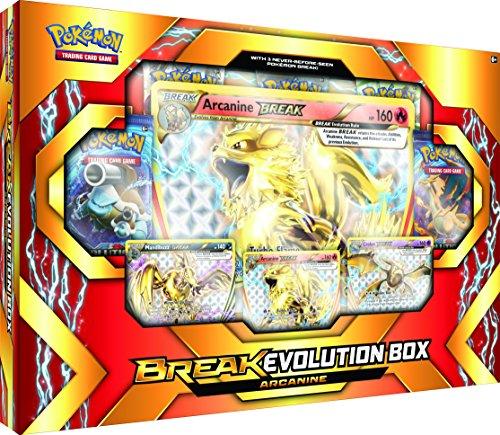 Pokemon TCG: Break Evolution Box Featuring Arcanine