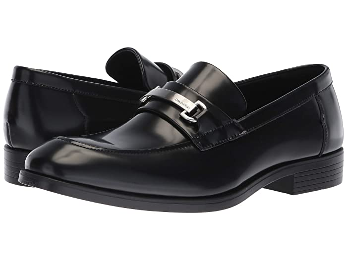 Mens Vintage Style Shoes & Boots| Retro Classic Shoes Calvin Klein Craig Black Mens Shoes $78.00 AT vintagedancer.com
