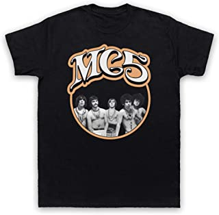 The Mc5 Garage Rock Band Retro Print T-Shirt Mens