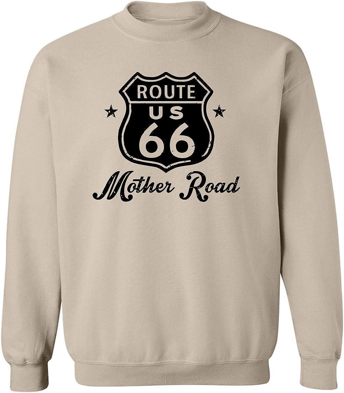 Route 66 Mother Road Crewneck Sweatshirt