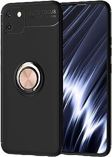 FanTing Case for Realme C11، قوس دائري قابل للتعديل 360 درجة، متوافق مع حامل سيارة مغناطيسي، غطاء مقاوم للزلاج لـ Realme C...