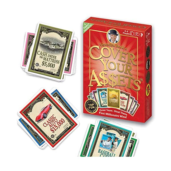 Grandpa Beck's Cover Your Assets Card Game | Fun Family-Friendly Set-Collecting...
