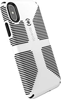 Speck Products CandyShell Grip iPhone Xs/iPhone X Case, White/Black