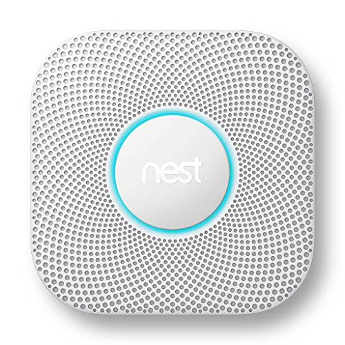 Nest Protect 2 Kohlenstoffmonoxid-Melder Interkonnektabel Kabellos - Rauchmelder (AC, 38,5 mm, 135 mm, 135 mm, 375 g, 4-38 °C)
