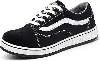 [CHNHIRA] 安全靴 作業靴 スニーカー メンズ レディース 通気 軽量 先芯入り メッシュ セーフティスニーカー 衝撃吸収 大きいサイズ ファション