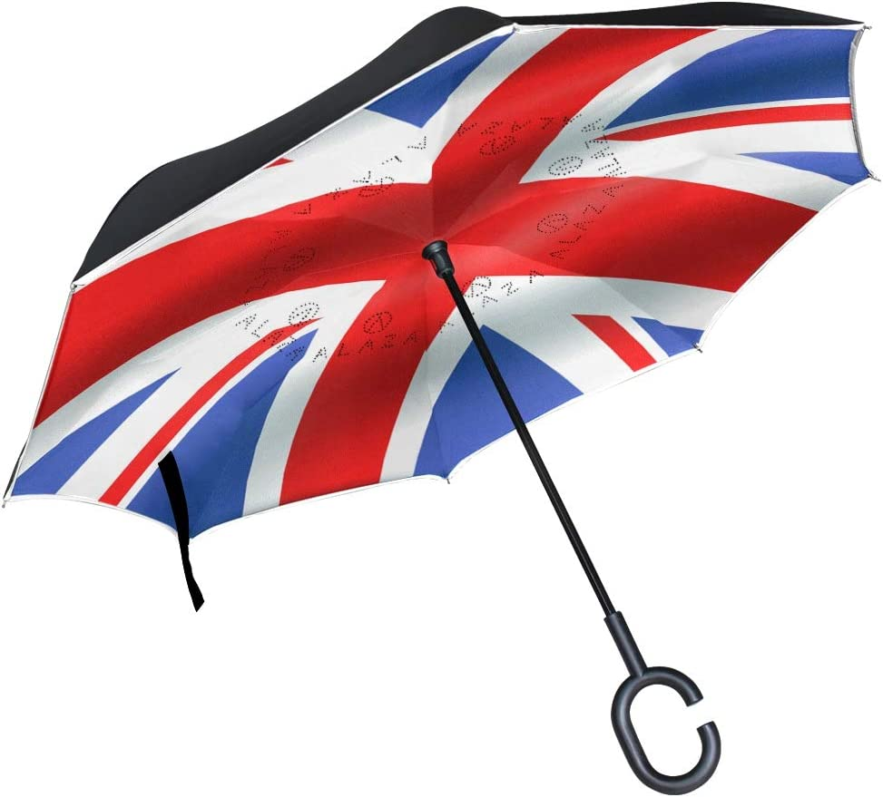 Ladninag Reverse Umbrella half British Nippon regular agency Re Best Flag Inverted