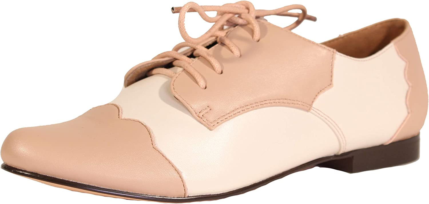 Retro Vintage Flats and Low Heel Shoes Chelsea Crew Holden Womens Oxfords  AT vintagedancer.com