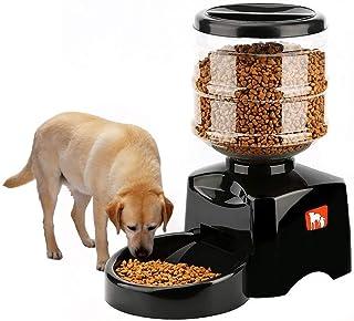 جهاز تغذية أوتوماتيكي ذكي للحيوانات الأليفة، وقت ثابت لتغذية كمية معينة للكلاب والقطط