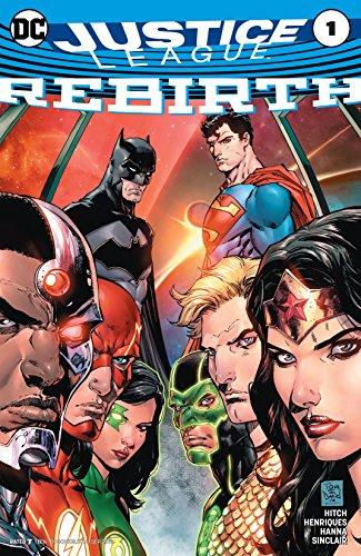 Amazon.com: Justice League: Rebirth (2016) #1 (Justice League ...