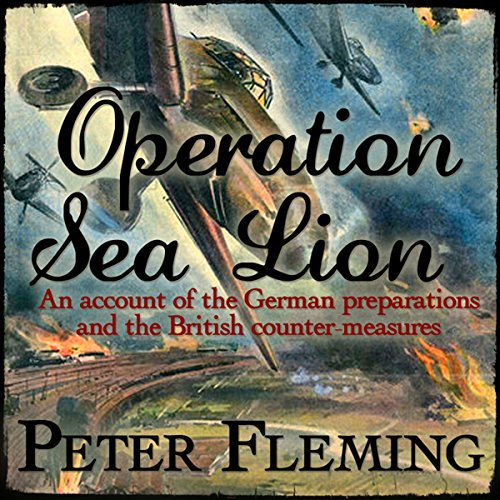 Operation Sea Lion audiobook cover art