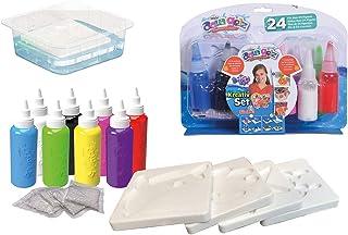 Simba - Aqua Gelz - Set Créatif - Kit Créatif Enfant pour Création de Figurines en 3D - Tubes de Gel - 106322451002
