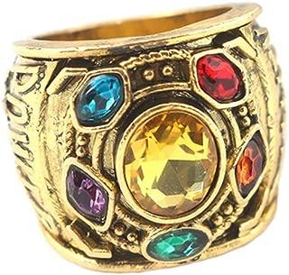 Moniku Thanos Rings Infinity War Soul Stone Power Ring Prop