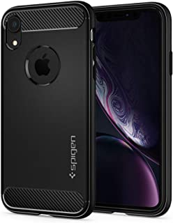 Spigen Rugged Armor Designed for Apple iPhone XR Case (2018) - Matte Black