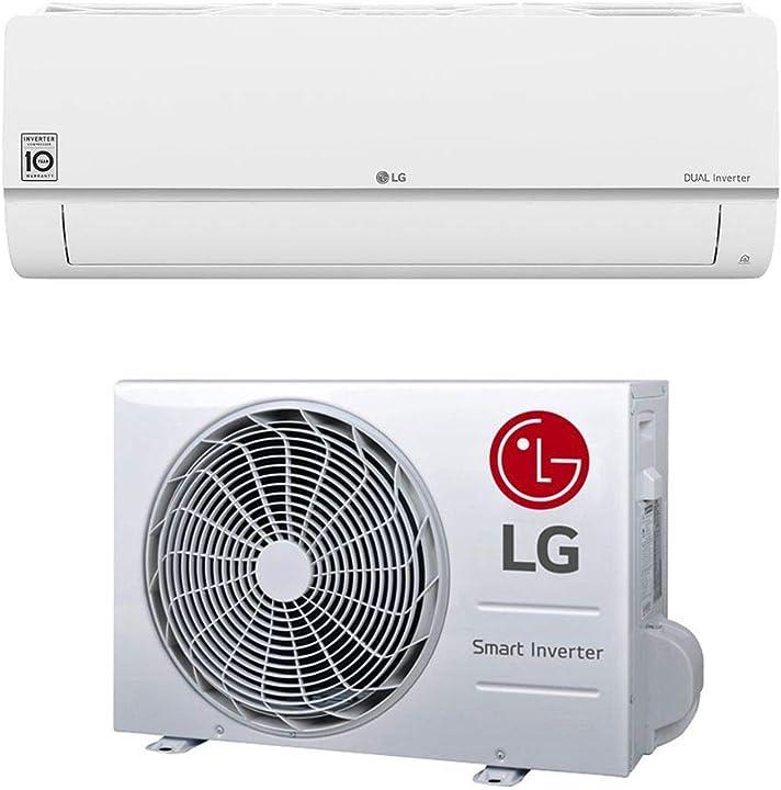 climatizzatore condizionatore d`aria monosplit lg da 12000 btu libero plus sq wifi inverter a++ in r32 b07rvcq14m