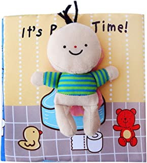 Montessori toddler toilet training busy board,Exercise babies over 2 years old Early childhood educational Hands on abilit...