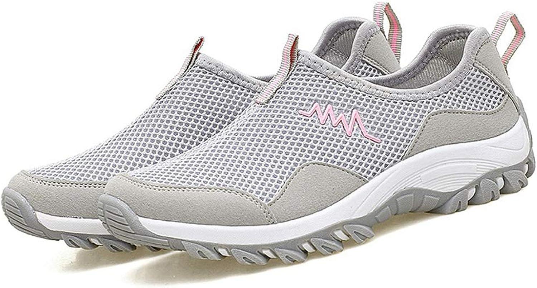 Giles Jones Women's Hiking shoes Breathable Mesh Wading Non-Slip Walking Trekking shoes