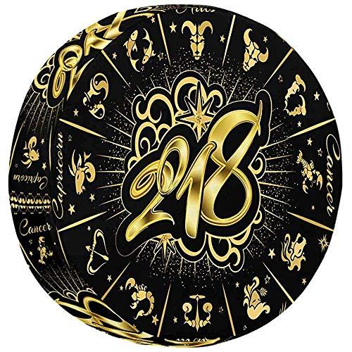 XZfly teken van het sterrenbeeld Astrologische kalender Universal Fit weerbestendige reserveafdekking