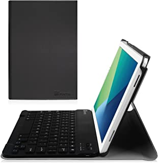 Fintie Keyboard Case for Samsung Galaxy Tab A 10.1 with S Pen 2016, Slim Light Weight Stand Cover with Detachable Wireless Bluetooth Keyboard for Galaxy Tab A 10.1 with S Pen(SM-P580/P585), Black