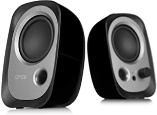 Edifier R12U Stereo Computer Bookshelf Active Speakers - Black