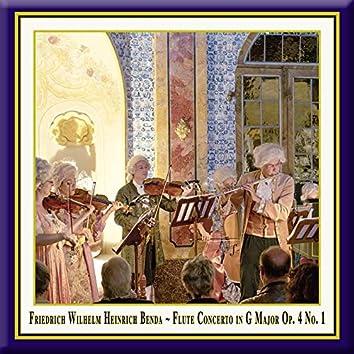 Benda: Flute Concerto in G Major, Op. 4 No. 1 (Live)