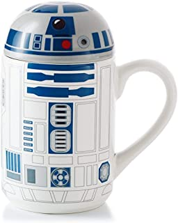 Hallmark SHP4039 Star Wars R2-D2 Mug with Lid and Sound