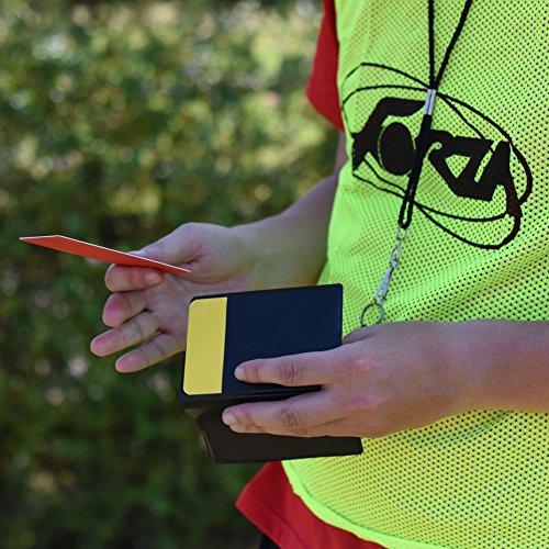 FORZA professionelles Schiedsrichter-Geldbeutel und Karte Set – Fußball Schiedsrichter Spieltagausrüstung