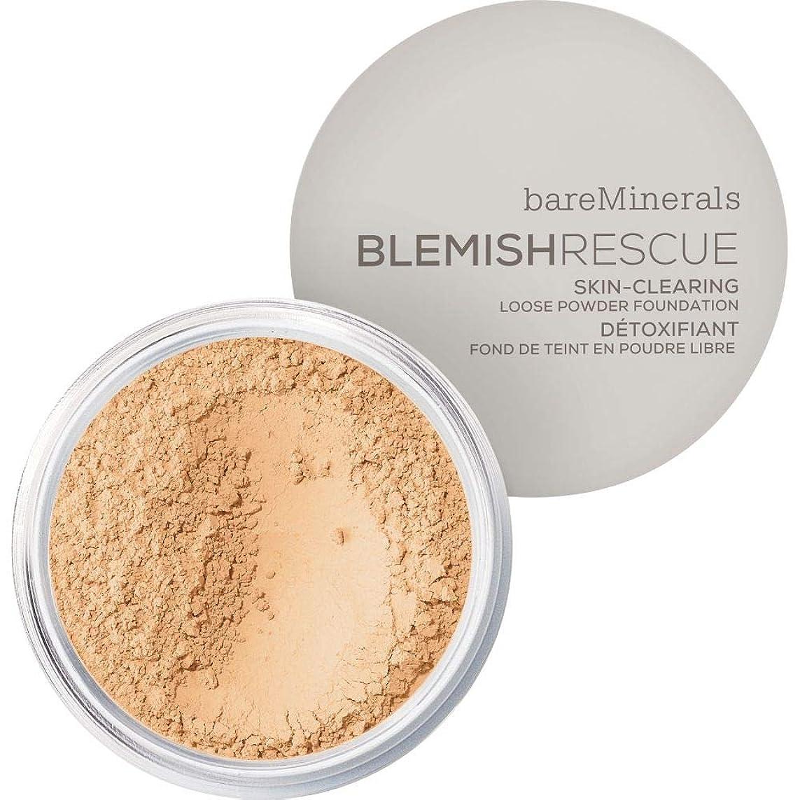[bareMinerals ] 光 - ベアミネラルは、レスキュースキンクリア2ワットを6G緩いパウダーファンデーションを傷 - bareMinerals Blemish Rescue Skin-Clearing Loose Powder Foundation 6g 2W - Light [並行輸入品]