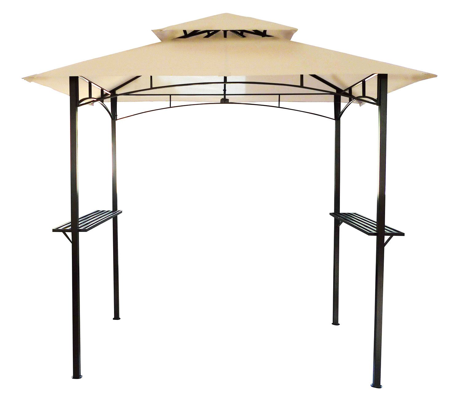 Bentley - Toldo para barbacoa de 2, 4 x 1, 5 m - Beige: Amazon.es ...