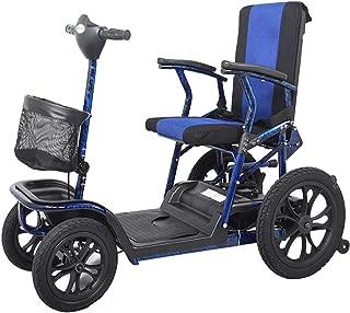 WPOSD Scooter Mobility   Scooter minusválidos   vehículo de Movilidad   Moto minusválidos   Moto para Personas Mayores  36kg 4 Ruedas