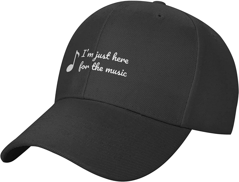 Modern Yellow Headphones Hat,Classic Baseball Cap Trucker Hatfor Men,Sun Hats for Women