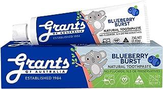Grants Kids Toothpaste: Blueberry Burst, 75 grams