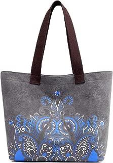 COTEetCI Women Canvas Handbag Shoulder Bag Top-Handle Tote Purse
