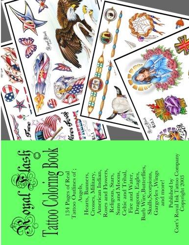 Royal Flash Tattoo Coloring Book: Royal Flash Tattoo Coloring Book (Royal Flash)