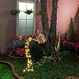 LED Gießkanne , Solar Gießkanne mit Lichterkette Garten Außen LED Gießkanne mit Lichterkette Außen Gießkanne Gartendekoration