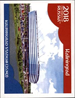 2018 Panini World Cup Stickers Russia #9 Kaliningrad Stadium Soccer Sticker