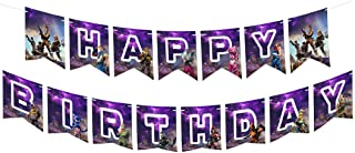 Video Game Party Banner, Video Game Party Favors Birthday Banner and for Party Decoration