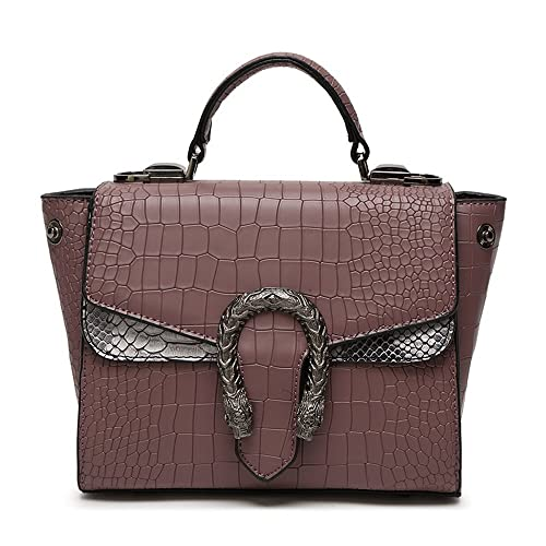 331fac8009dc Mn Sue Wild Style Alligator Snake Pattern Women Leather Handbag Retro  Messenger Bag Flap Handle Satchel