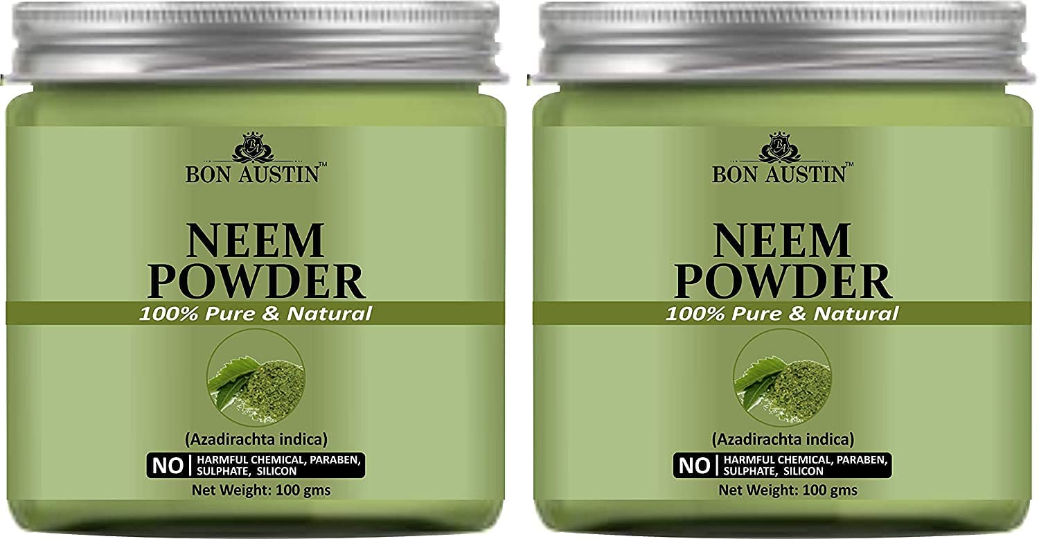 Trisha Long-awaited Bon Austin 100% Pure Natural Combo Shipping included Pack Powder Neem of