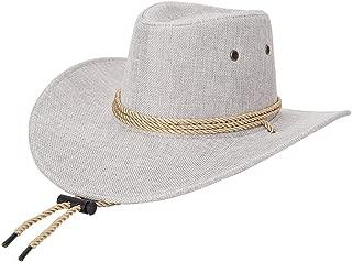 Cool Sombrero Vaquero Transpirable y cómodo Cowboy Hat Protector Solar Sombrero Hombre Unisex Gorras