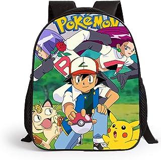 403ae3a0e47990 Carino Pokémon Pikachu Zaino Scuola per Bambini Borse Leggero Zaino  Adolescenti Ragazzi Laptop Zaino Computer da