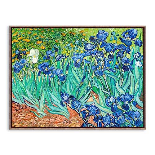 HANTAODG Impresión De La Lona Impresionismo Artista Vincent Van Gogh Flores Lámina Impresión En Pared Cuadro Lienzo Pintura Al Óleo Decoración para El Hogar 50Cmx70Cm