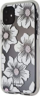 Kate Spade Defensive Hardshell Case for iPhone 11 (6.1-inch) - Hollyhock Flowers